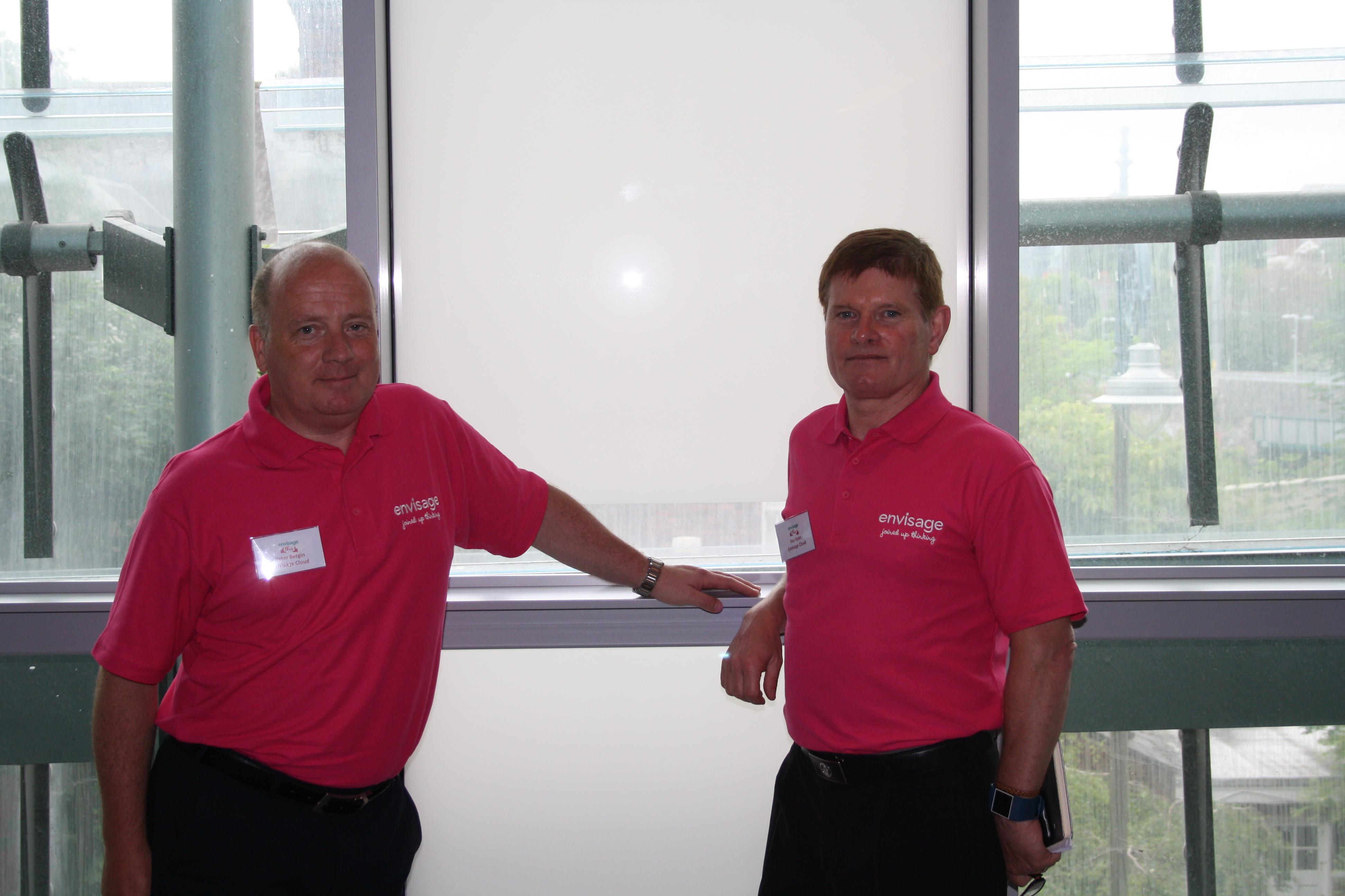 Ray Ryan and Peter Bergin, Envisage Cloud